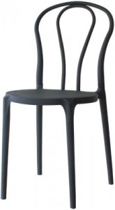 PARKER Black CHAIRS  .. WINTER CLEARANCE                      for          $ 55.00ea  ex-warehouse + gst...